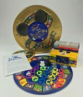 The Wonderful World of Disney Trivia Game Replacement Parts Pieces Tokens Cards