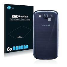 6x Samsung Galaxy S3 Neo (Kamera) Displayschutzfolie Klar Transparent