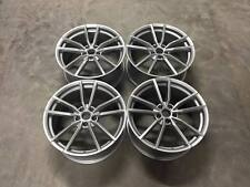 "19"" New Golf R Pretoria Style Wheels - Hyper Silver  VW MK5 6 7 Audi A3 A4 A6"