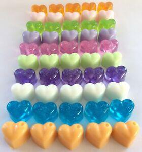Handmade Mini Heart Soap Wedding Favours  4 10 20 50 100