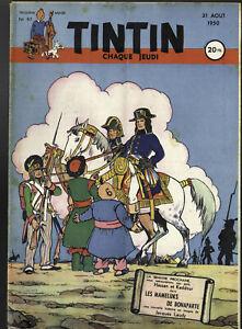 Journal de TINTIN  FRANCE N° 97 du 31 Aout 1950 Couverture LAUDY Bonaparte