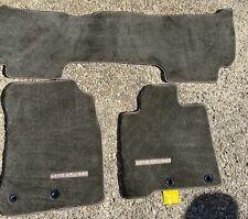 TOYOTA LAND CRUISER 2013-2020 3PCS Gray Carpet Floor Mats Original New Not Used