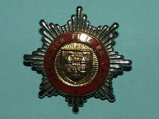 RARE DONCASTER FIRE BRIGADE OFFICER'S CAP BADGE - PRE 1974 - 100% ORIGINAL!