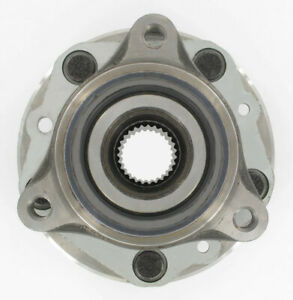 SKF BR930064, Axle Bearing and Hub Assembly, Front, BR930064
