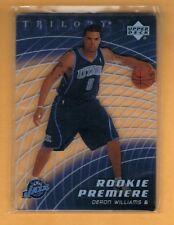 2005-06 Trilogy Deron Williams Rookie /599 Utah Jazz RC