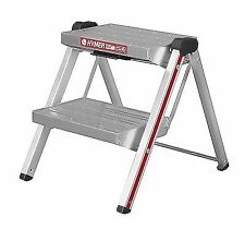 Hymer 603002 Folding Aluminium Step Ladder With 2 Steps