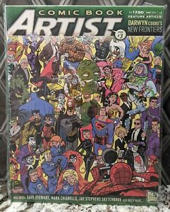 Comic Book Artist Vol. 2 #3 Top Shelf Productions 2003 Darwyn Cooke Cover/Focus
