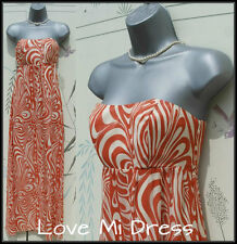 Teatro - Stunning Silk Floor Skimming Maxi Dress Sz 12 EU40