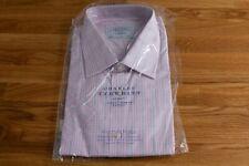 Charles Tyrwhitt Hemd - Classic Fit - Größe 46 - Bügelfrei - NEU - Kurzarm