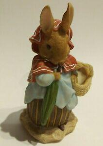 Beatrix Potter's Peter Rabbit's Mother Mrs. Josephine Rabbit Figurine 2002