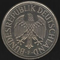 1991 F Germany 1 Mark Coin | European Coins | Pennies2Pounds