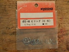 BS-48 E-Ring E-Clip E-6 (E6.0) 6mm / 1386 - Kyosho Hardware Burns Turbo Burns