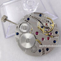17 Jewels 6497 swan neck mechanical hand winding vitage mens watch movement M01