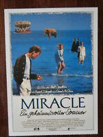 Filmplakatkarte / moviepostercard  Miracle - ein geheimnisvoller Sommer  N.Byrne