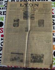 Lyon Républicain mercredi 14 septembre 1932Cyclisme A Leducq,grand prix de Monza