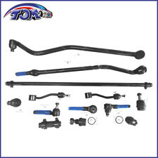New 13Pcs Tie Rod Drag Link Track Ball Joint Sway Bar Kit Fits Jeep Wrangler
