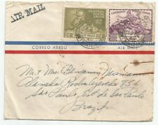 TRINIDAD TOBAGO  1949 UPU cover sent to Brazil at $0.36 rate