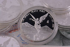2011 Mexico Libertad Quarter Troy Oz .999 Silver Round Bullion Proof Coin 1/4