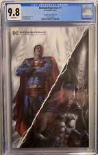 BATMAN/SUPERMAN #1 (2019)  CGC 9.8 NM/M PARRILLO SCORPION COMICS COA 84/600 DC
