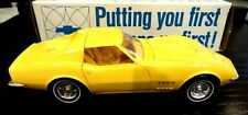 "1969 CHEVY CORVETTE PROMO CAR W/BOX MEADOWDALE YELLOW ""MINT"""