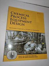 Chemical Process Equipment Design Prentice Hall international series.