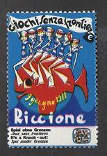 ITALIA CHIUDILETTERE NUOVO RICCIONE GIOCHI SENZA FRONTIERE 1971