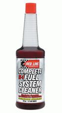 REDLINE System Cleaner Kraftstoffsystemreiniger SI-1 Benzin Additiv Mehrleistung