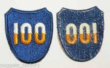 Patch original Vietnam USA -100th Infantry Division ( 298 )