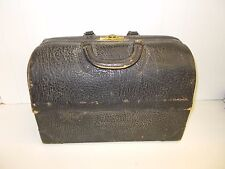Kw 152 Emdee By Sc Antique Vintage Leather Doctor S Bag Steampunk