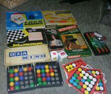 gros lot de jeux de société vintage pocket Scrabble Master mind 1000 bornes...