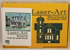 Laser-Art Structures by Branchline - Lasalle House - Kit #629 - NIB