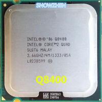 Intel Core 2 Quad Q8400 CPU SLGT6 2.66GHz 4MB 1333MHz Socket 775 Processors
