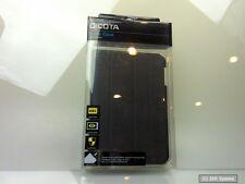 DICOTA Leder Book Case, Hülle D30638 für iPad MINI Black / Schwarz, NEU
