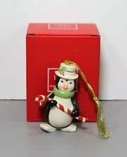 One Very Merry Penguin Christmas Ornament in Box - Lenox