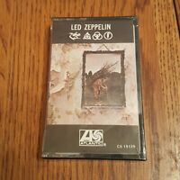 Led Zeppelin IV 4  Zoso Cassette - NEW Sealed