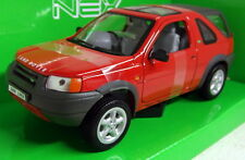 Nex 1/24 Scale 22077W Land Rover Freelander Red Diecast model car