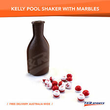NEW! KELLY POOL SHAKER BOTTLE WITH MARBLES RRP $14.99 STOCK CLEARANCE