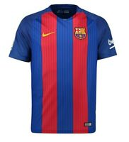 Barcelona Nike Mens Large Authentic Replica Home Jersey RoyalNWT New