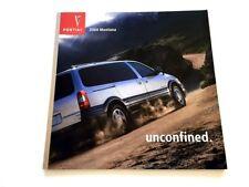 2004 Pontiac Montana Van 34-page Original Car Sales Brochure Catalog