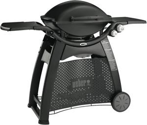 NEW Weber 56010124 Family Q Black LPG