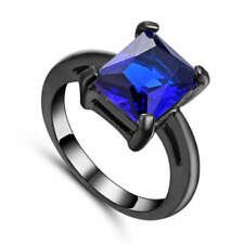 Beauty Sapphire Stone Costume Rings