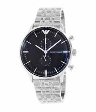 Stainless Steel Band Luxury Brushed Wristwatches