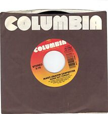 CARPENTER, Mary-Chapin  (Going Out Tonight)  Columbia 38-74038