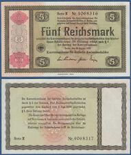 5 Reichsmark konversionskasse 1934 casi kassenfrisch/aunc ro.708 a