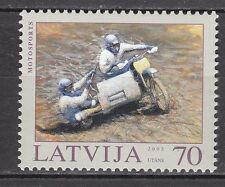 LATVIA 2003**MNH SC# 580  Motorcycle Racing
