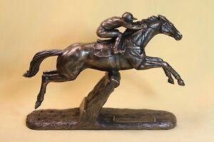Champion Hurdler Istabraq - Bronze  Large  NEW  - H Glen -Superb Gift