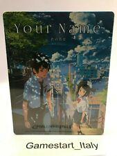 YOUR NAME - BLU RAY STEELBOOK LIMITED EDITION - NUOVO SIGILLATO VERSIONE ITA