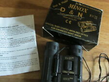 Minox D&N High Quality Ruby Coated Optics Binoculars 8 x 21