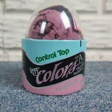 Vintage Color Leggs L'eggs Egg Pantyhose Control Top Sheer Toe Size A Raspberry