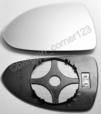 Left Passenger Side Wing Mirror Glass Backing Plate HEATED Corsa D 2006-2013